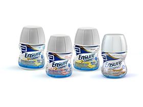 Image of Abbott Ensure Compact Integratore Alimentare Gusto Fragola 4x125ml 934197068