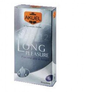 Image of Akuel By Manix Long Pleasure 6 Pezzi 934315084