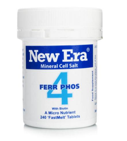 New Era 4 Ferroso Phosphate Integratore Alimentare 240 Granuli c75162051d87