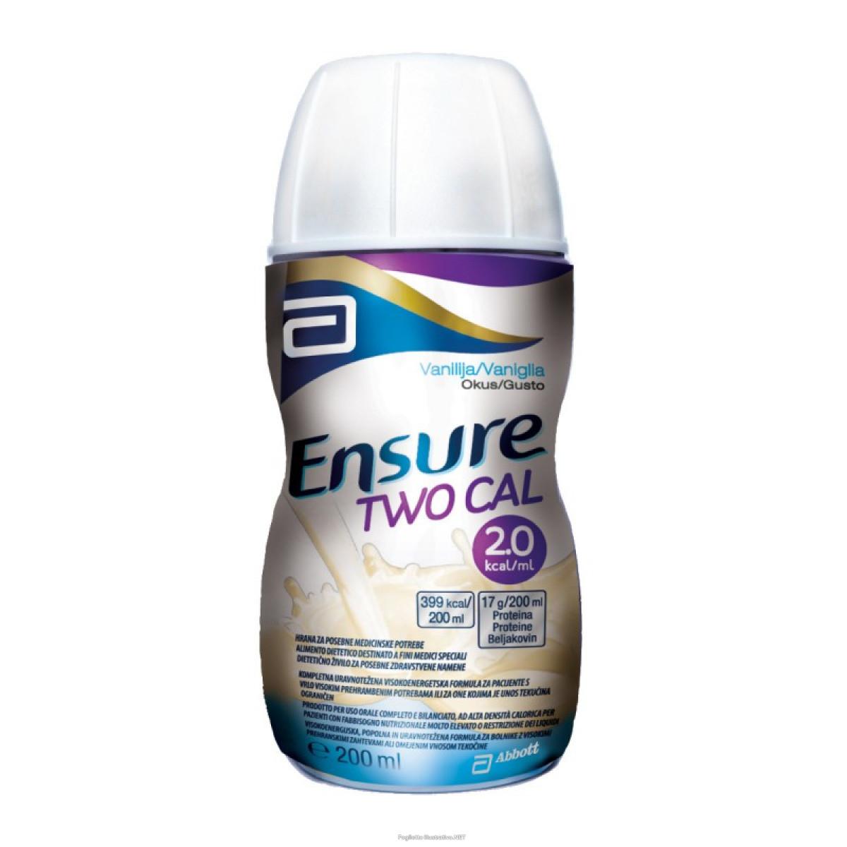 Image of Abbott Ensure Twocal Integratore Alimentare Gusto Vaniglia 200ml 934531930