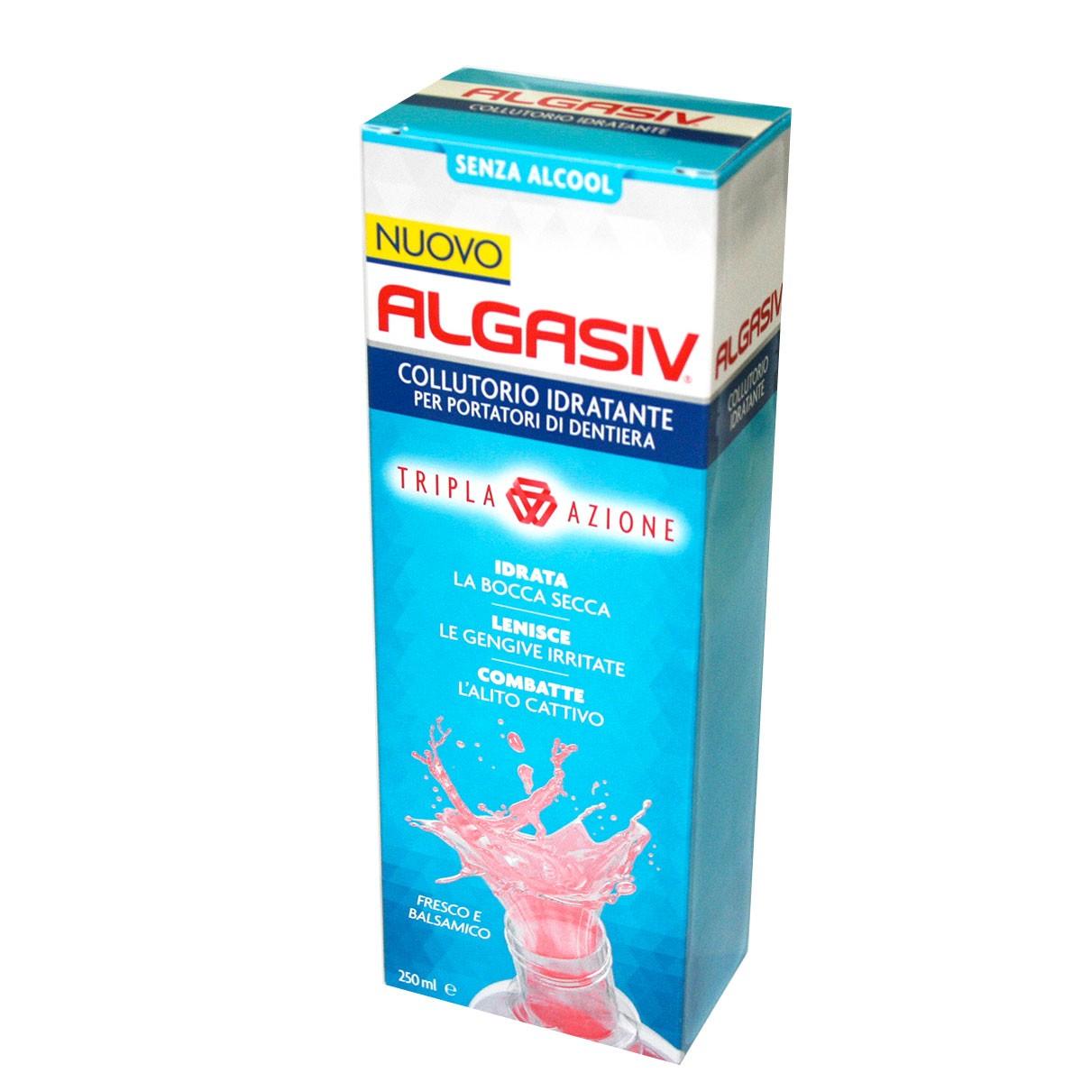 Image of Algasiv Collutorio Idratante Tripla Azione 250ml 934545397