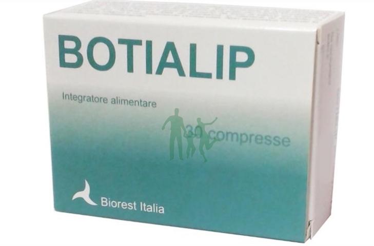 Image of Biorest Italia Botialip Integratore Alimentare 30 Compresse 934623190