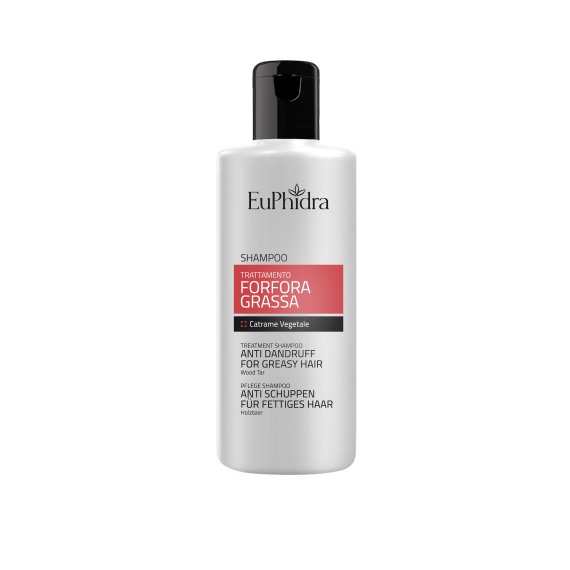 Euphidra Shampoo Trattamento Forfora Grassa 200ml
