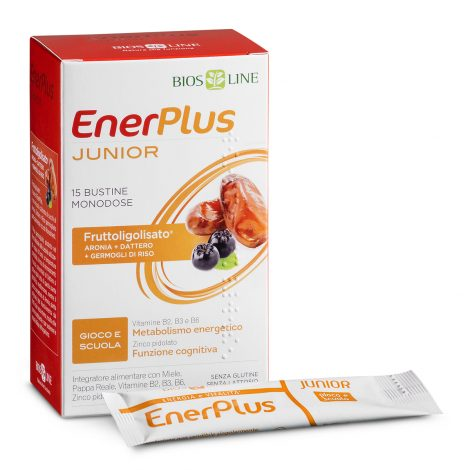 Bios Line Enerplus Junior Integratore Alimentare 15 Bustine