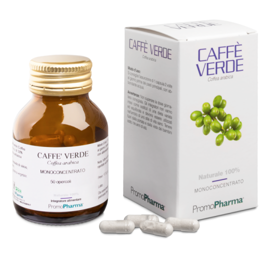 PromoPharma Caffè Verde Integratore Alimentare 50 Capsule
