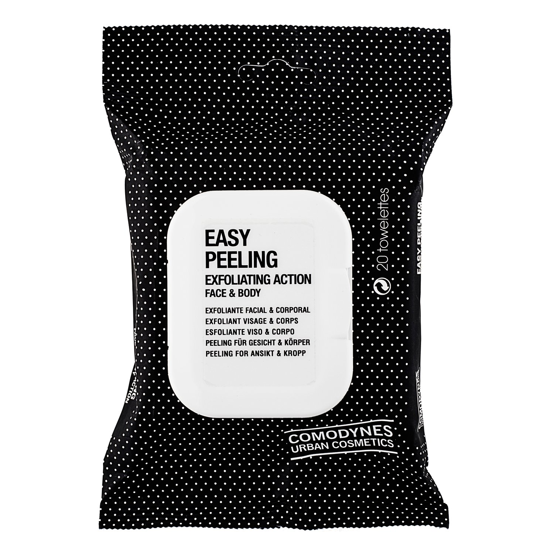 Comodynes Easy Peeling Esfoliante Viso E Corpo 20 Salviette