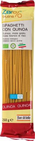 Fior Di Loto Zero% Glutine Spaghetti Con Quinoa Bio 250g
