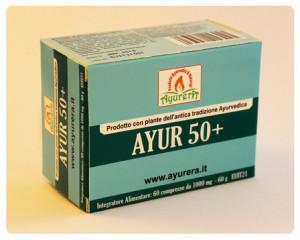 Image of Ayurera Ayur 50+ Integratore Alimentare 60 Compresse 935208239