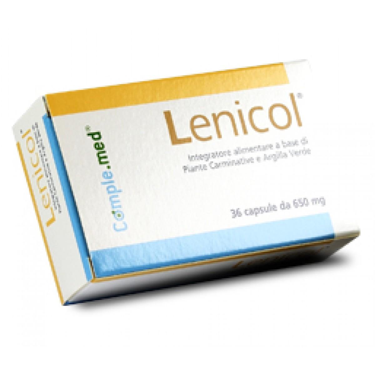 Image of Lenicol Integratore Alimentare 36 Capsule 935241253