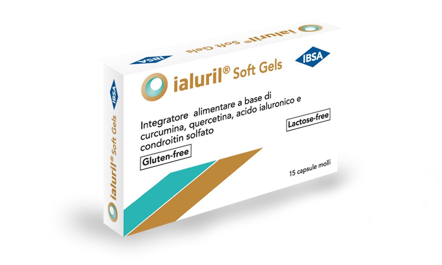 Image of Ialuril Soft Gels Integratore Alimentare 30 Capsule 935251456