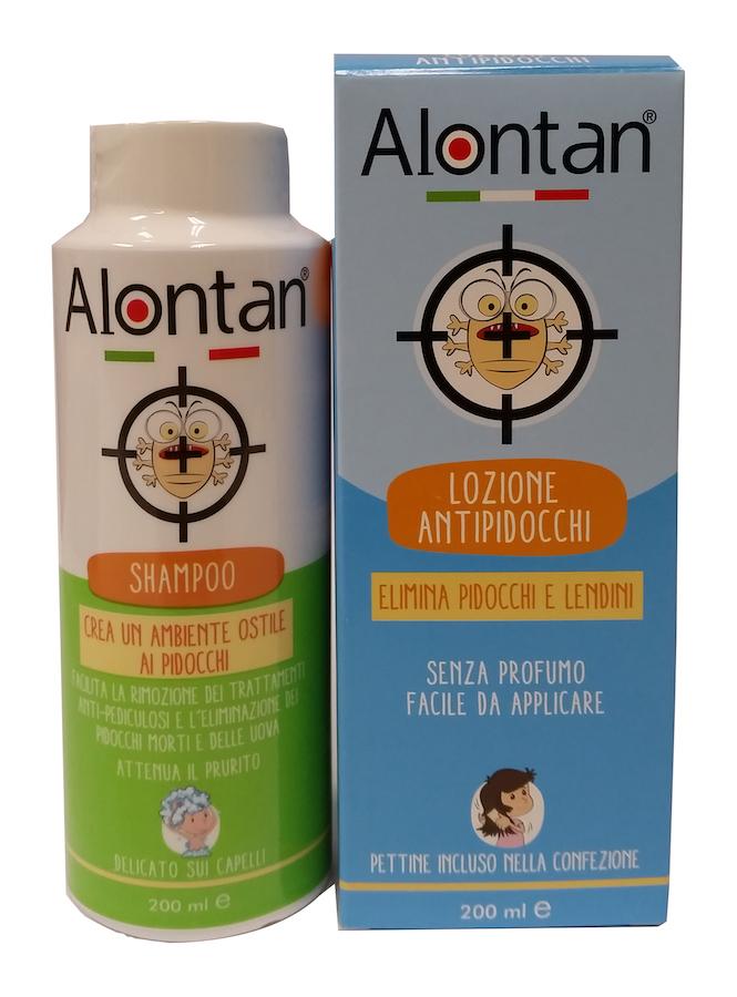 Image of Alontan Lozione Antipidocchi 2 Pack Da 200ml 935256154