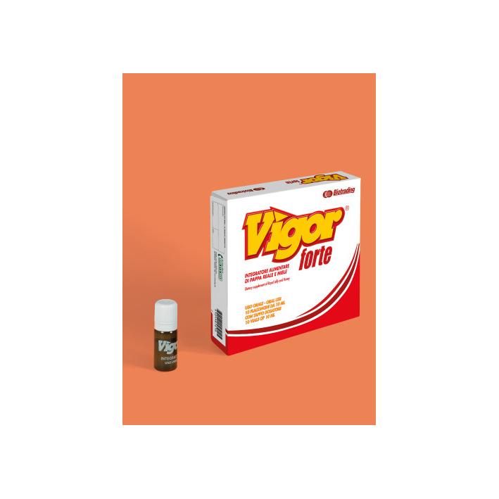 Image of Biotrading Vigor Forte Integratore Alimentare 7 Flaconi 935358616