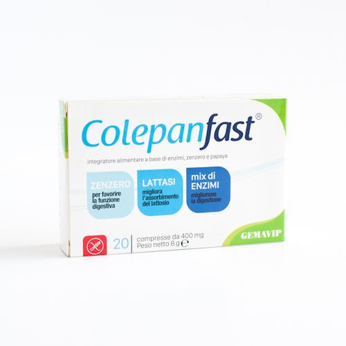 Image of Colepanfast Integratore Alimentare 20 Compresse 935479244
