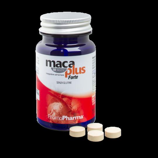 PromoPharma Maca Plus Forte Integratore Alimentare 50 Compresse