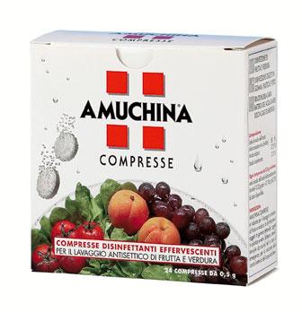 Image of Amuchina Compresse Disinfettanti Effervescenti 24 Pezzi