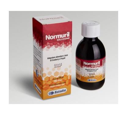 Image of Biotrading Normuril Soluzione Integratore Alimentare Senza Glutine 200ml 935627531