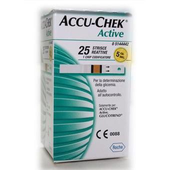 Image of Accu-Chek Active 25 Strisce Reattive 935677245