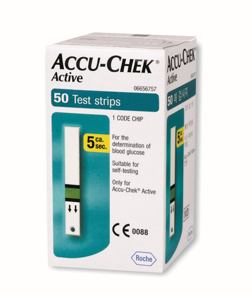 Image of Accu-Chek Active Strips 50 Test Strips 935677260