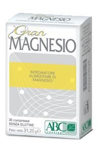 Image of A.B.C.Trading Gran Magnesio Integratore Alimentare 30 Compresse