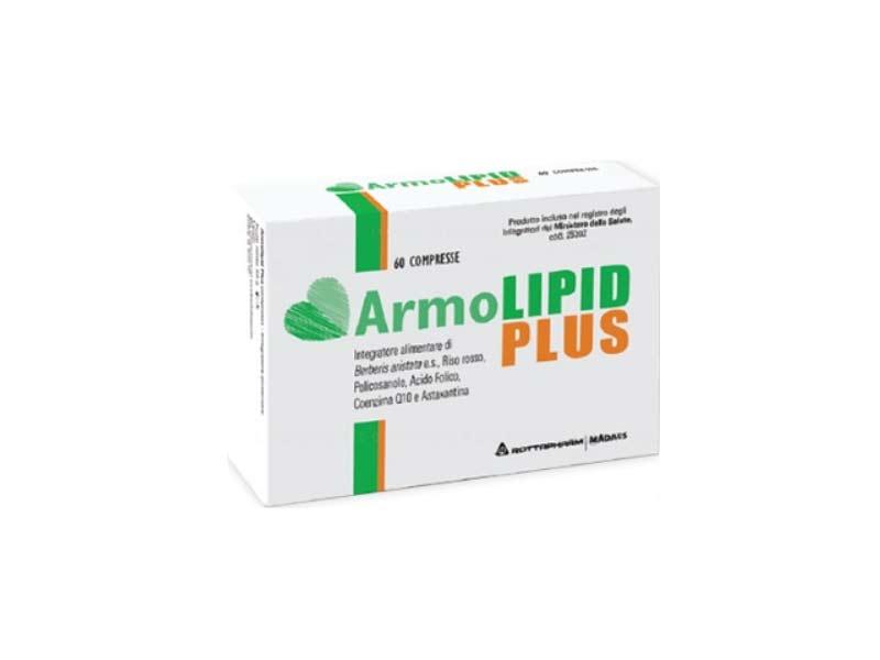 Image of Meda Pharma Armolipid Plus Integratore Alimentare 60 Compresse