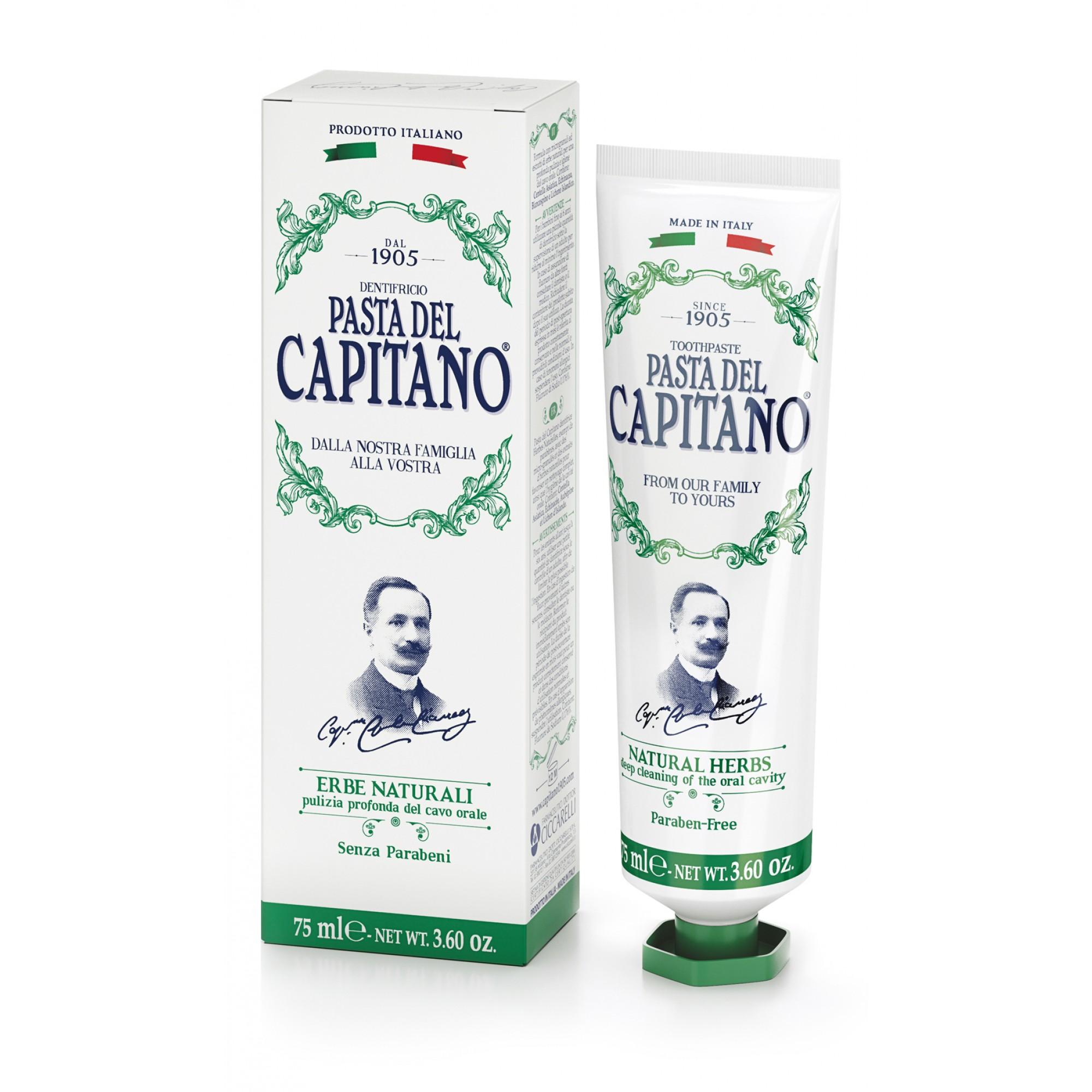 Pasta Del Capitano 1905 Dentifricio Erbe Naturali 75ml