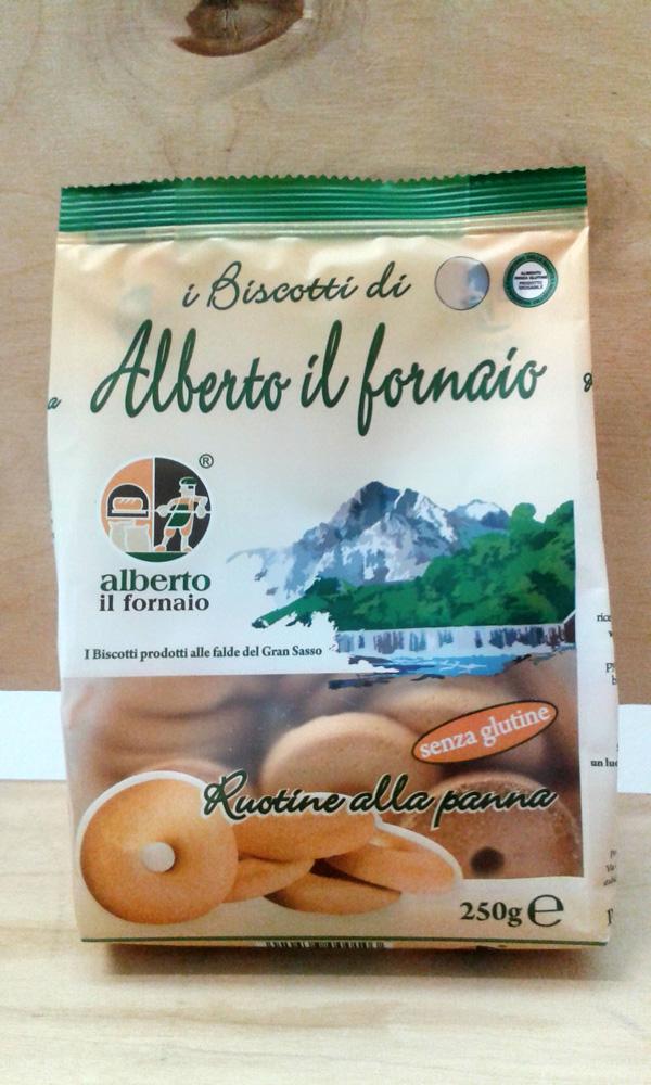 Image of Alberto Il Fornaio Ruotine Alla Panna Senza Glutine 60g 935923817