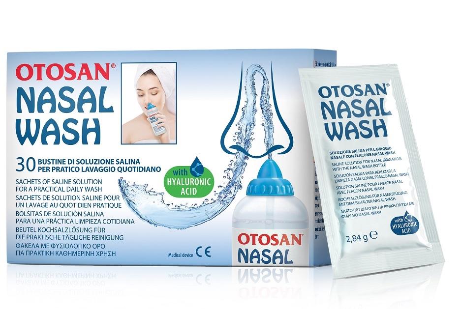 Otosan Nasal Wash Soluzione Salina 30 Bustine