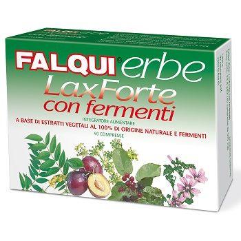 Image of Falqui Erbe Laxforte Integratore Alimentare 40 Compresse 935992812