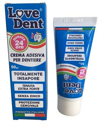 Love Dent Crema Adesiva Per Protesi Dentarie 50g