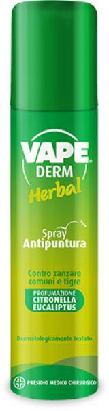 Image of Vape Derm Herbal Spray Anti Puntura 100ml 936980768