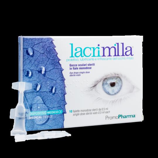 PromoPharma Lacrimilla Gocce Oculari Sterili 10 Fialette Monodose