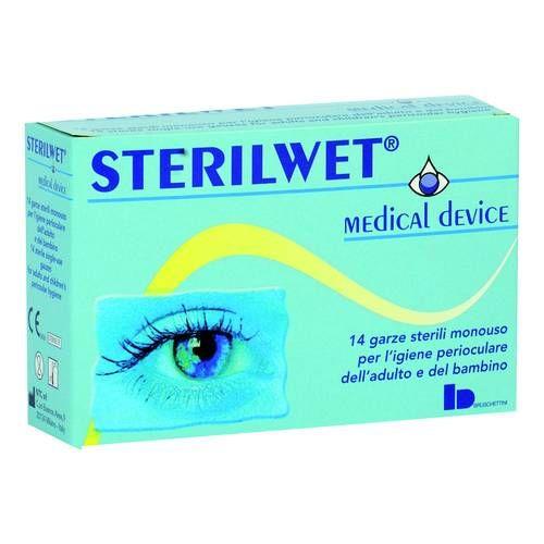 Image of Bruschettini Sterilwet Garze Oftalmiche Sterilizzate 14 Pezzi 938112531