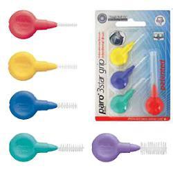Paro 71092 3Start Grip Scovolino Intedentale Misura XX Fine Colore Giallo