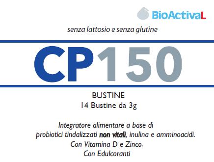 Image of Bioactival Cp150 Integratore Alimentare 14 Bustine 938763380