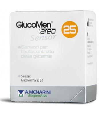 Image of A.Menarini Glucomen Areo Sensor Strips 25 Pezzi