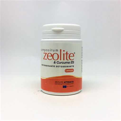 Image of Compositum Zeolite & Curcuma 80 Compresse 938769748