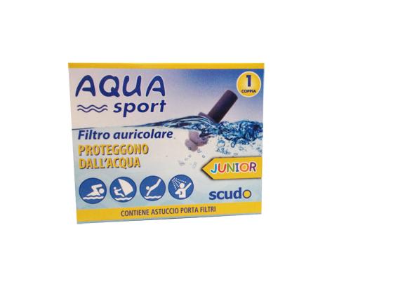 Image of Aquasport Junior Earplug Scudo 2 Pezzi 938852528