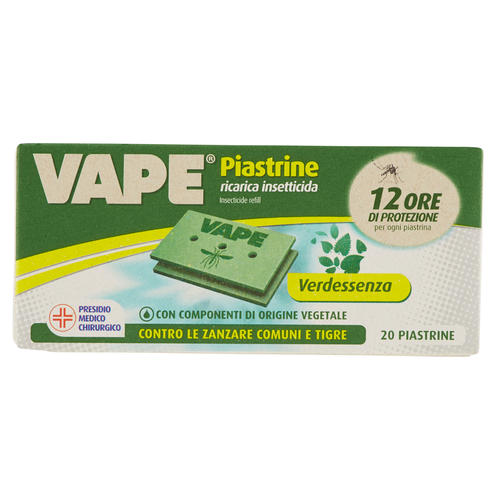 Image of *VAPE PIASTRINE VERDEEESENZA 20 PZ 938865704