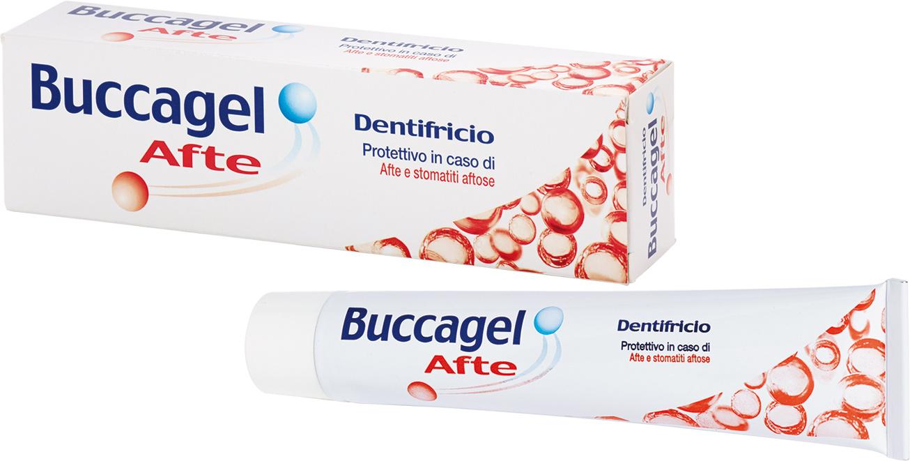 Image of Curaden Buccagel Afte Dentifricio Protettivo in Caso di Afte 50ml