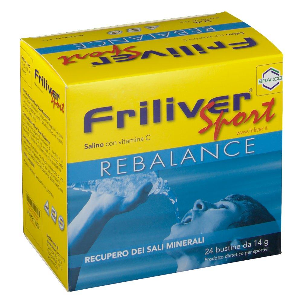 Bracco Friliver Sport Rebalance 24 Bustine Da 14g
