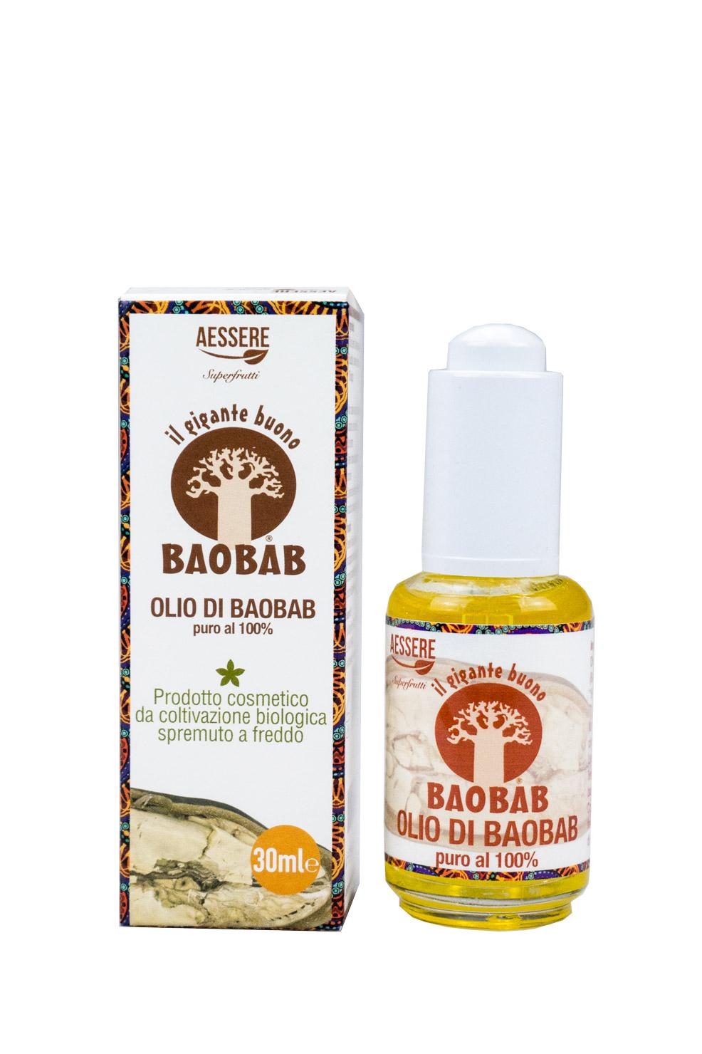 Image of Aessere Baobab Olio Puro Al 100% 30ml 939410508
