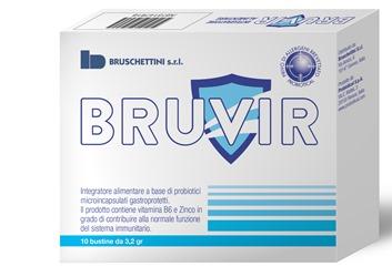 Image of Bruschettini Bruvir Integratore Alimentare 10 Bustine 940473655
