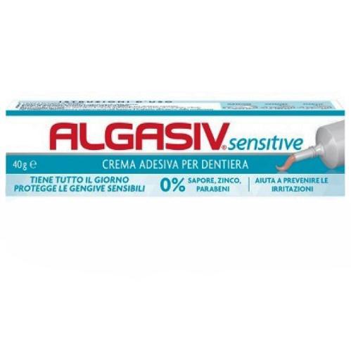 Image of Algasiv Sensitive Crema Adesiva Per Dentiera 40g 941102485