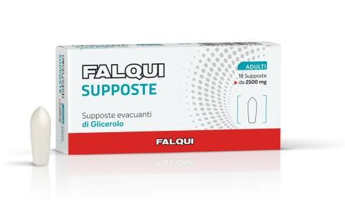 Image of Falqui Supposte Evacuanti Per Adulti 18 Supposte 941657811