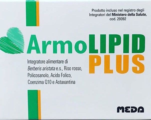 Image of Armolipid Plus Integratore Alimentare 30 Compresse