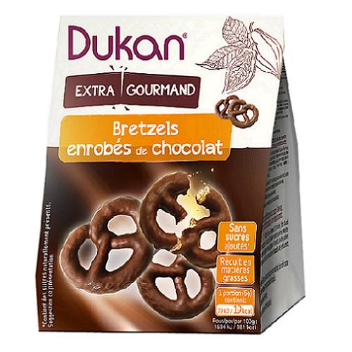 Image of Dukan Bretzels Al Cioccolato 100g 970151888