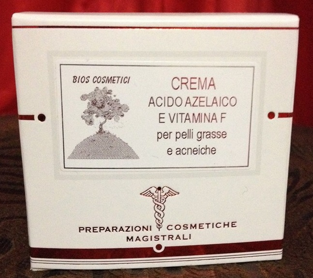 Image of Bios Cosmetici Crema Acido Azelaico Vitamina F Pelle Grassa e Acneica 50ml 970227118