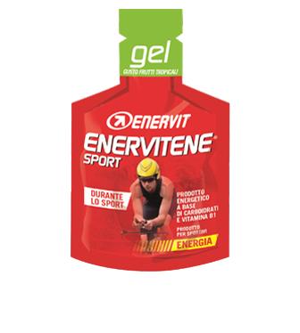 Enervit Enervitene Sport Gel Gusto Frutti Tropicali Integratore Alimentare 1 Bustina 25ml