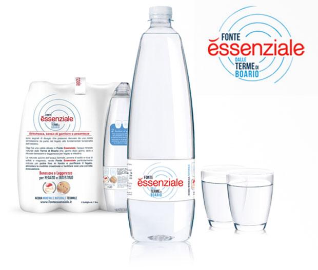 Image of Fonte Essenziale Acqua Minerale Naturale Di Origine Termale In Confezione Pet 6x400ml 970265361