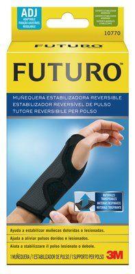 Image of 3M Futuro Tutore Polso Reversibile Colore Nero Taglia unica 13,3 - 22,9 cm 970288003